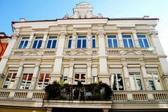 Vilnius town old residential house on September 24, 2014 Royalty Free Stock Images