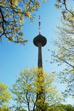 Vilnius tv tower - highest building of lithuanian capital Royalty Free Stock Photos