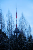 Vilnius TV tower Royalty Free Stock Photos