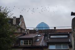 Vilnius ulica Zdjęcie Stock