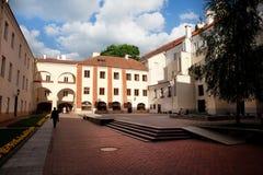 Vilnius University couryard royalty free stock images