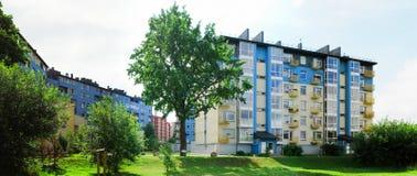 Vilnius vandaag. Nieuwe gebouwen bij pasilaiciai stock fotografie
