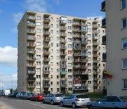 Vilnius vandaag. Nieuwe gebouwen en aard. Royalty-vrije Stock Foto
