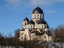 Vilnius Virgin Mary Mother Orthodox Church Royalty Free Stock Photography