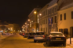 Vilnius in Winter Stock Photos