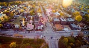 Vilnius Zverynas region Royaltyfri Foto