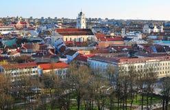 Vilniushorizon Royalty-vrije Stock Afbeelding