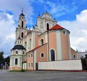 Vilniuskerk Royalty-vrije Stock Foto