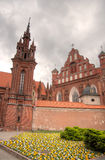 Vilniusstad churchs Royalty-vrije Stock Afbeelding