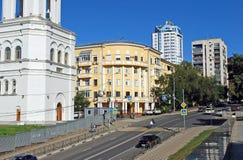 Vilonovskaya-Straße samara Stockfotografie