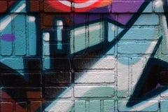 Vilt färgrik abstrakt texturbakgrund Arkivfoto