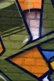 Vilt färgrik abstrakt texturbakgrund Fotografering för Bildbyråer
