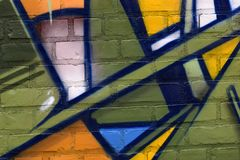 Vilt färgrik abstrakt texturbakgrund Royaltyfria Bilder
