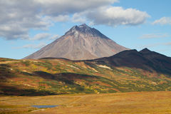 Viluchinskii volcano. Kamchatka Royalty Free Stock Photos