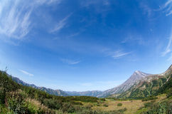 Viluchinsky vulkan Royaltyfri Bild