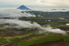 Vilyuchinsky stratovolcano. South Kamchatka Nature Park. Royalty Free Stock Photo