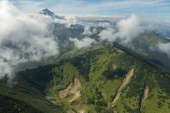 Vilyuchinsky stratovolcano. South Kamchatka Nature Park. Stock Image