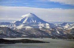 Vilyuchinsky volcano of Kamchatka Peninsula. Stock Image