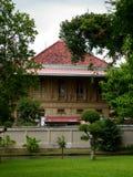 Vimanmek Mansion - Bangkok. Thailand (2013 Royalty Free Stock Photo