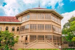 Vimanmek Mansion, Dusit Palace Bangkok Stock Photo