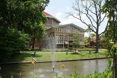 Vimanmek Mansion, Vimanmek Palace, Dusit Palace Garden in Bangkok, Thailand, Asia Royalty Free Stock Photos