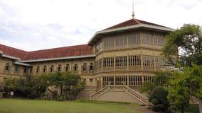 Vimanmek pałac ฺBangkok Tajlandia Fotografia Royalty Free