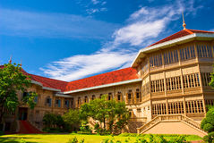 The Vimanmek Palace of Thailand Royalty Free Stock Photos