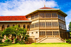 The Vimanmek Palace of Thailand Royalty Free Stock Photo