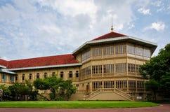 Vimanmek Royal Mansion, the world's largest golden Royalty Free Stock Photography