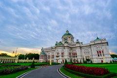 Vimanmek slott Royaltyfri Fotografi