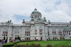 Vimanmek Teak Mansion museum Royalty Free Stock Image