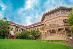 Vimanmekherenhuis, Dusit-Paleis Bangkok Stock Afbeelding