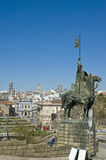 Vimara Peres statue at Porto, Portugal Stock Image