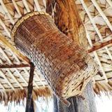 Vime de bambu tradicional tailandês Foto de Stock