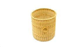 Vime handmade tailandês da cesta Fotos de Stock