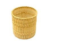 Vime handmade tailandês da cesta Imagens de Stock Royalty Free