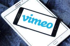 Vimeo logo zdjęcia stock