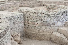 VIMINACIUM, SERBIEN - 1. APRIL: Archäologische Fundstätte von Viminacium R Lizenzfreie Stockbilder