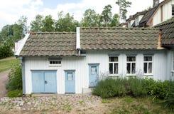 VIMMERBY SVERIGE - Juni 19, 2018 - världen för Astrid Lindgren ` s, Astrid Lindgrens Varld är ett nöjesfält royaltyfri bild