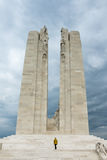 VIMY-KANT, ARRAS/FRANCE - SEPTEMBER 12: Vimy Ridge National Hi Arkivfoto