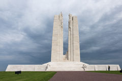 VIMY-KANT, ARRAS/FRANCE - SEPTEMBER 12: Vimy Ridge National Hi Royaltyfria Foton