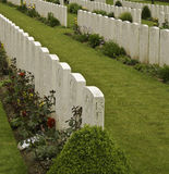 Vimy ridge grave stone Royalty Free Stock Images
