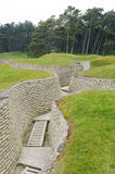 Vimy Ridge Trench Stock Image