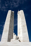 The Vimy World War One War Memorial in France Royalty Free Stock Image