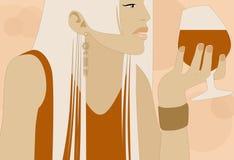 Vin illustration stock