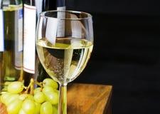 Vin blanc Photo libre de droits