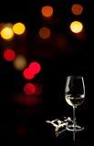 Vin blanc Photos libres de droits