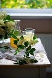 Vin blanc de fleur de sureau Vintage de style Images stock