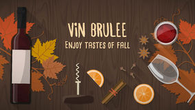 Vin brulee Royalty Free Stock Image