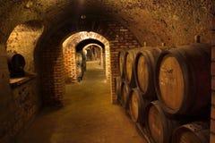 Vin-cave Photos libres de droits
